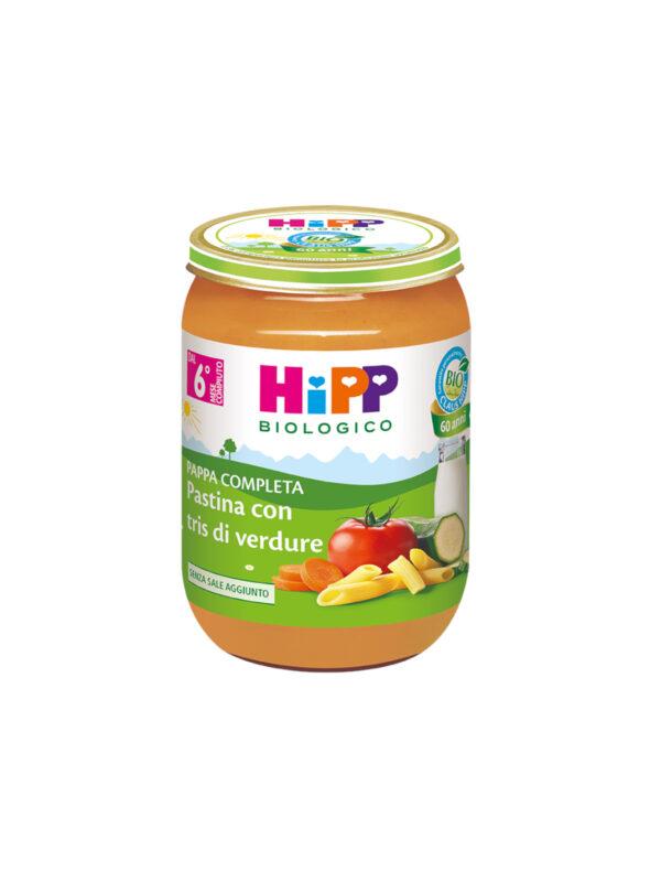 Pappa pronta Pastina tris di verdure 190g - HiPP - Pappe complete
