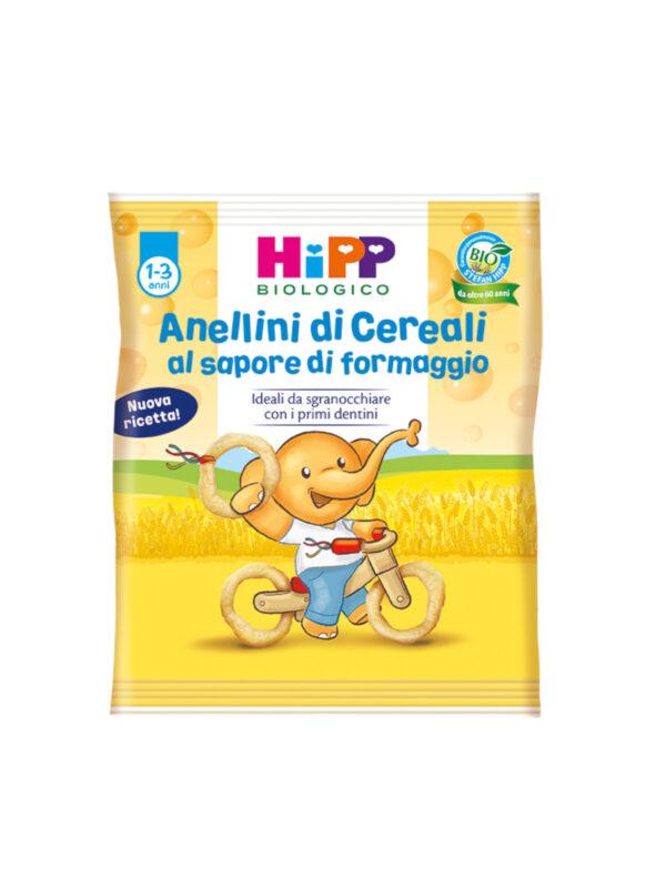 Anellini di cereali 25g - HiPP - Snack per bambini