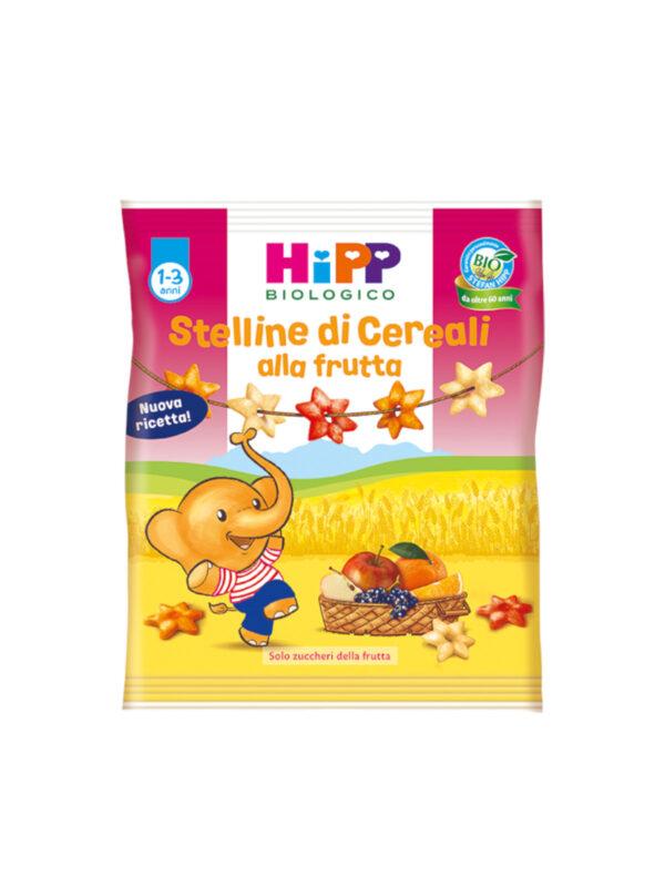 Stelline di cereali alla frutta 30g - HiPP - Snack per bambini