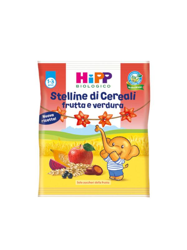 Stelline di cereali frutta e verdura 30g - HiPP - Snack per bambini