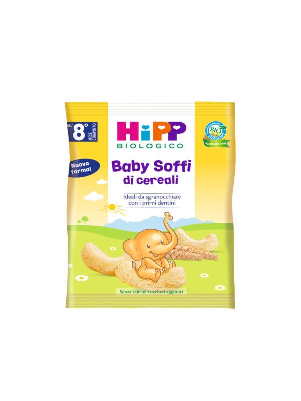 Baby Soffi di Cereali 30g - HiPP - Snack per bambini
