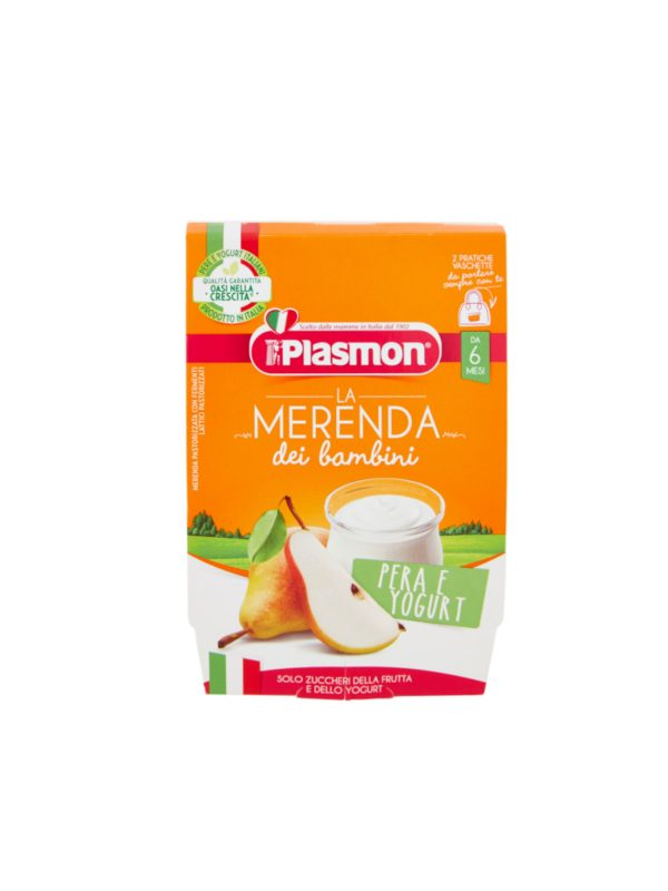 Plasmon - Sapori di Natura pera - yogurt- 2x120g - Plasmon - Yogurt e budini per bambini