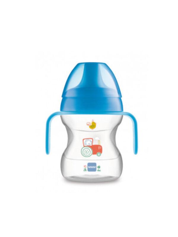 Learn to Drink Cup 190 ml con manici removibili bimbo - MAM - Accessori Pappa e Allattamento