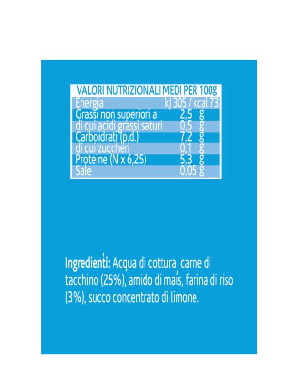 Nipiol - Omogeneizzato Tacchino - 4x80g - Nipiol - Omogeneizzato carne