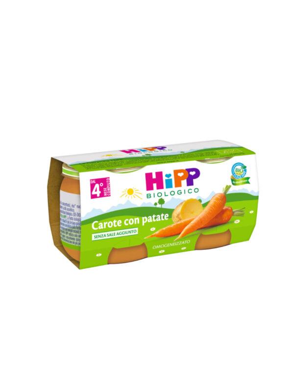 Hipp - Omogeneizzato Carote con patate 2x80g - HiPP - Omogeneizzato verdure