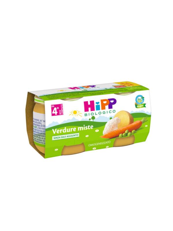 Omogeneizzato Verdure miste 2x80g - HiPP - Omogeneizzato verdure