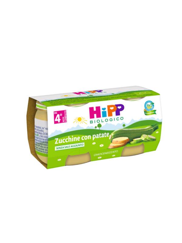 Hipp - Omogeneizzato Zucchine con patate 2x80g - HiPP - Omogeneizzato verdure