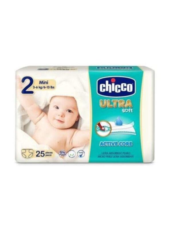 Chicco Ultra Mini  (3-6 kg) - 25 pz - CHICCO - Taglia 2 (3-6 kg)