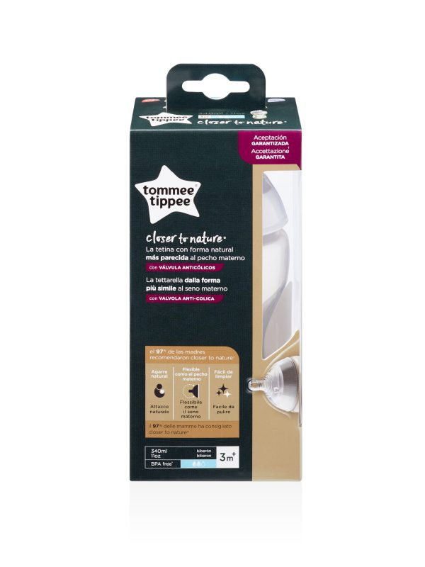 Tommee Tippee biberon Closer to Nature, 340ml - TOMMEE TIPPEE