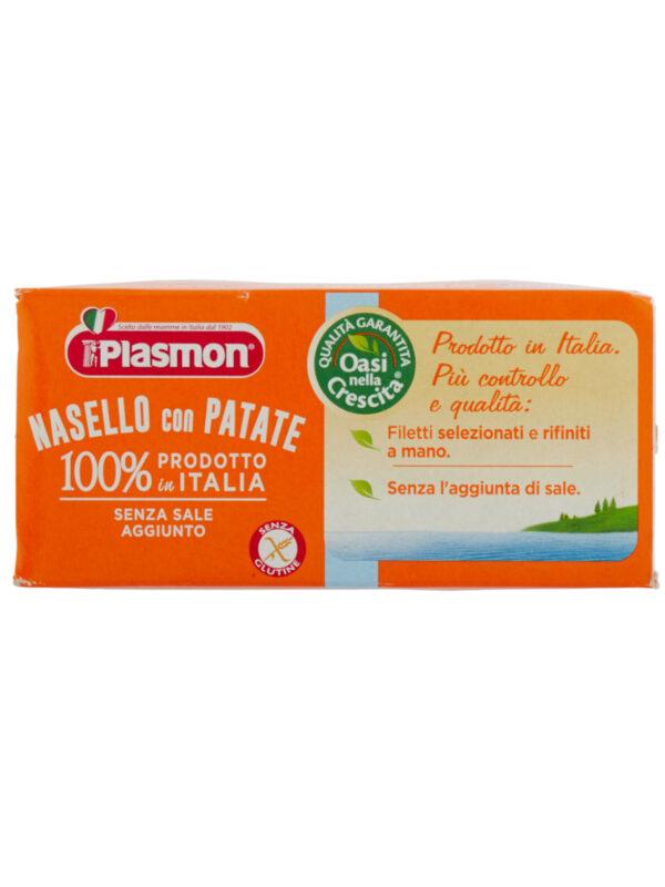 Plasmon - Omogeneizzato Nasello - Patate - 2x80g - Plasmon - Omogeneizzato pesce