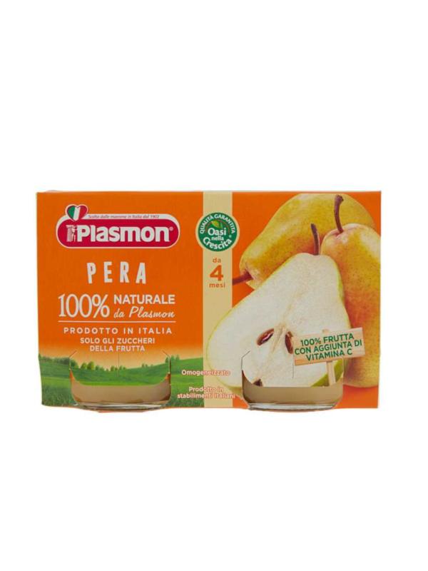 Plasmon - Omogeneizzato Pera - 2x104g - Plasmon - Omogeneizzato frutta