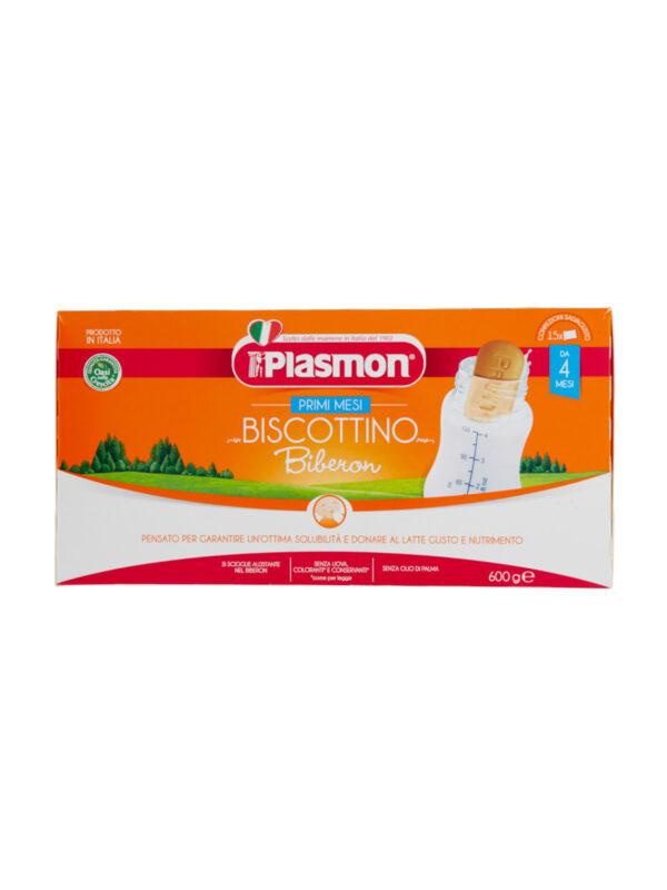 Plasmon - Biscotto Plasmon 600gr Biberon POF - 600g - Plasmon - Biscotti per bambini