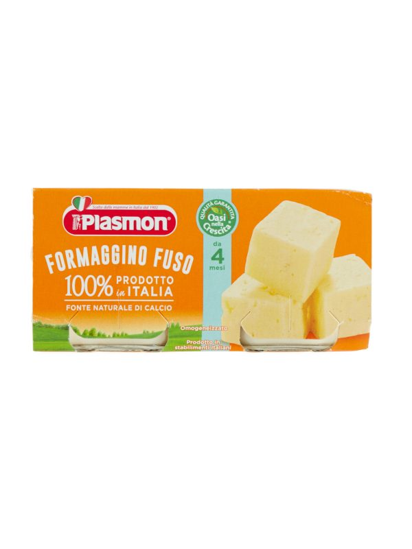 Plasmon - Omogeneizzato Formaggino - 2x80g - Plasmon - Omogeneizzato formaggio