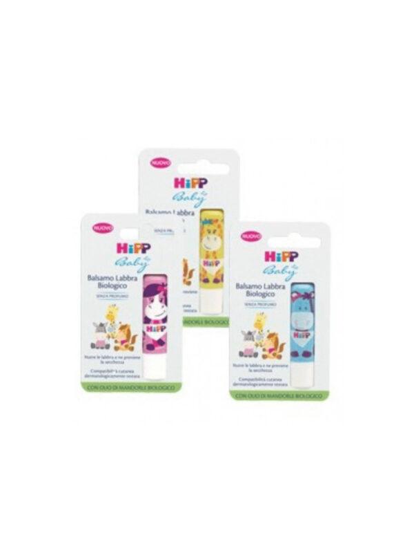 Balsamo labbra Bio Assortito <strong>Colori assortiti</strong> - HIPP BABY - Cura e cosmesi bambino