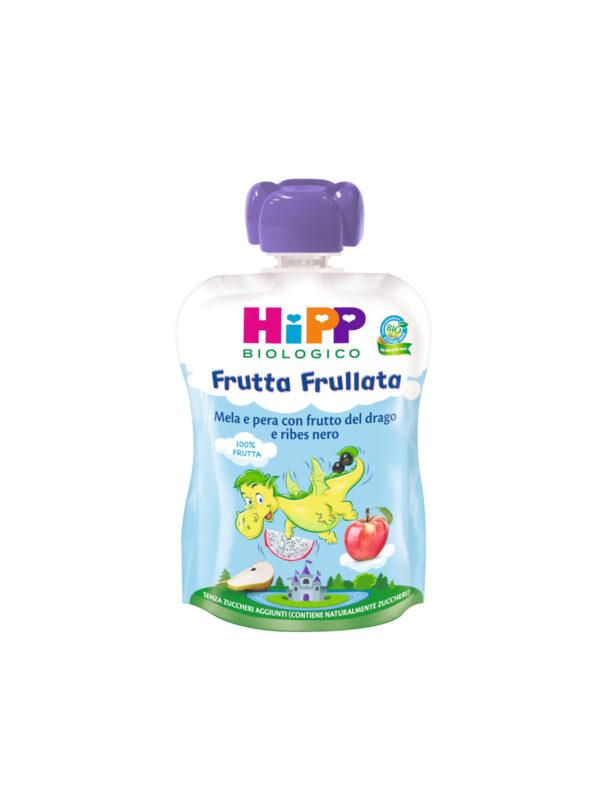 Frutta Frullata mela e pera con ribes e frutto del drago (DRAGONE) - HiPP