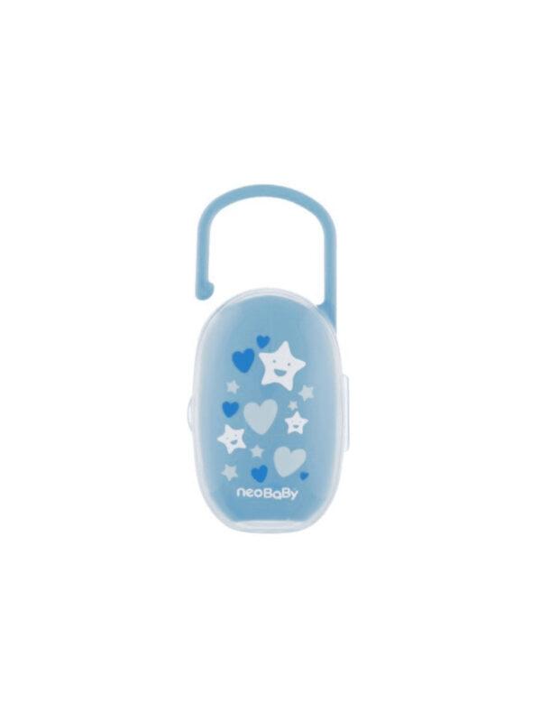 Portasucchietto azzurro - NEOBABY - Ciucci