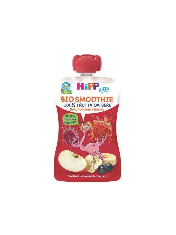 Smoothies Mela Banana e Frutti rossi - HiPP - Merende da bere