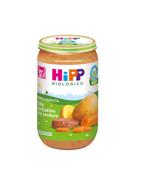 Pappa pronta Baby Spezzatino verdure 250g - HiPP - Pappe complete