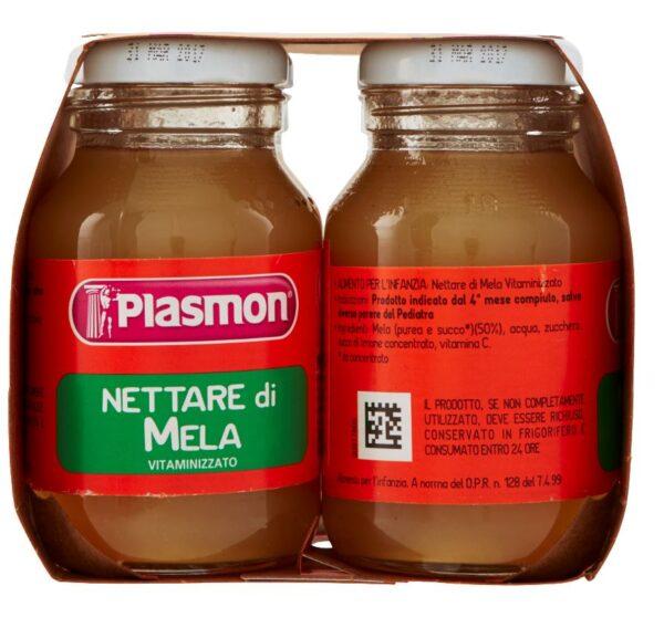 Plasmon - Nettare di Mela - 4x125ml - Plasmon - Frutta frullata