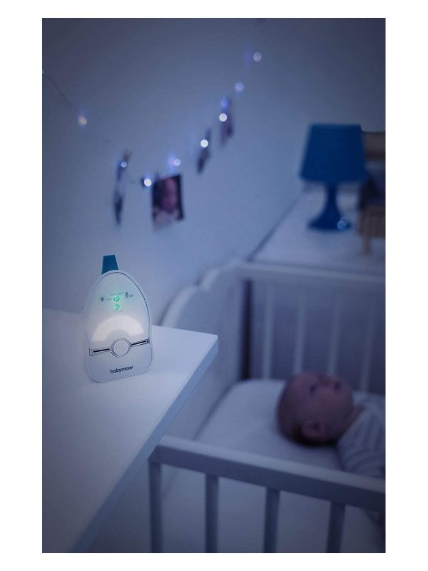 Babyphone audio easy care 2 + luce notturna - BABYMOOV - Accessori sicurezza