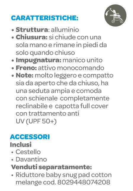Passeggino Sketch Nero Navy - INGLESINA - Inglesina