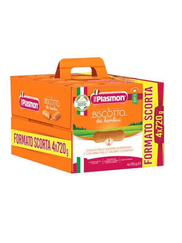 Plasmon - Biscotto Classico 4x720g - Plasmon - Biscotti per bambini
