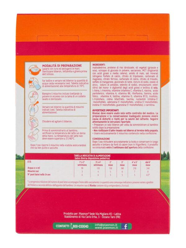 Plasmon - Latte Risolac Stage 1&2 - 350g - Plasmon - Latte 1
