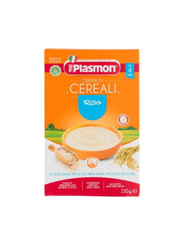 Plasmon - Cereali - Crema di Riso - 230g - Plasmon - Creme e Pappe Lattee