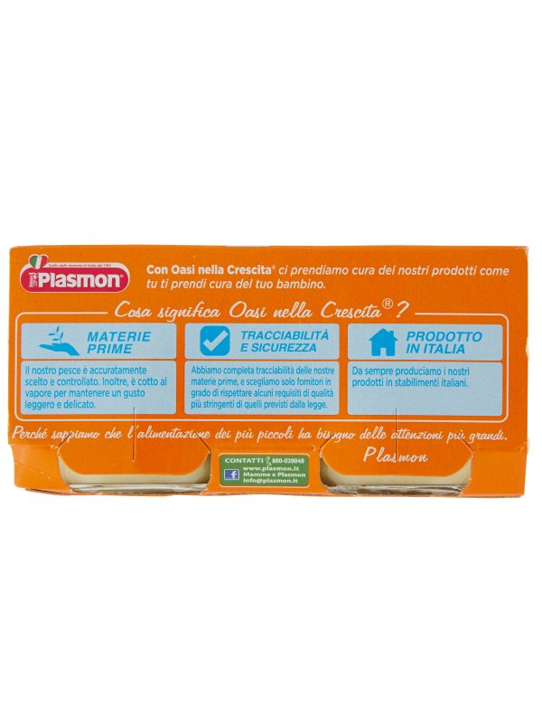 Plasmon - Omogeneizzato Spigola - Branzino - 2x80g - Plasmon - Omogeneizzato pesce