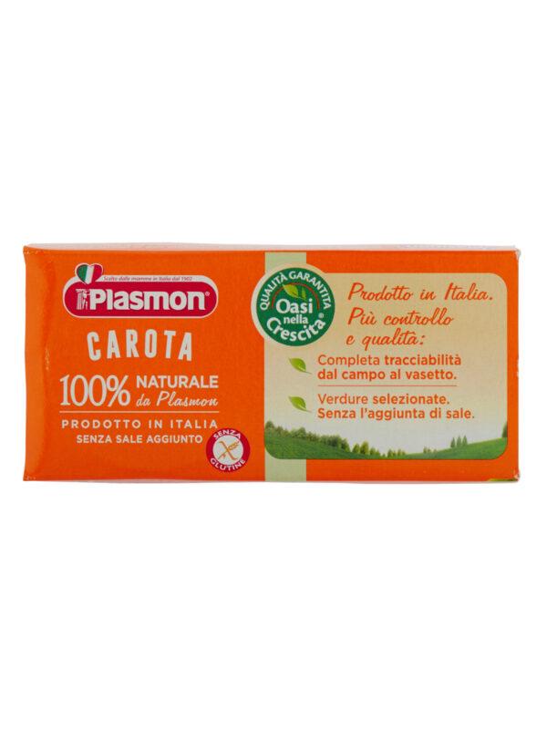 Plasmon - Omogeneizzato Carota - 2x80g - Plasmon - Omogeneizzato verdure