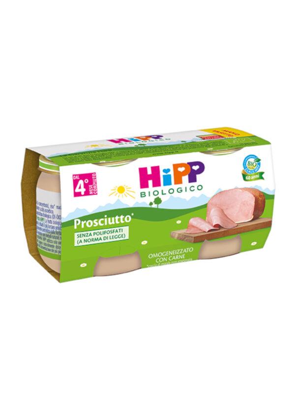 Hipp - Omogeneizzato Prosciutto 2x80g - HiPP - Omogeneizzato carne