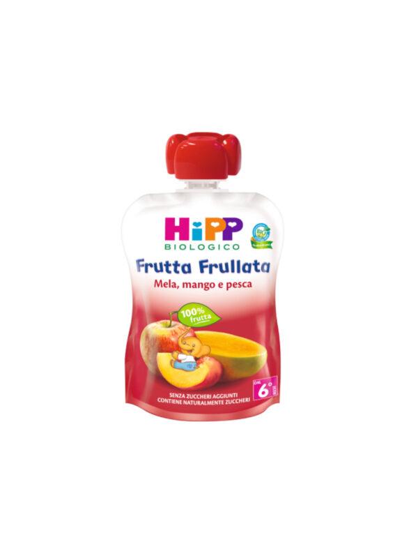Frutta frullata Mela mango pesca 90g - HiPP - Merende da bere