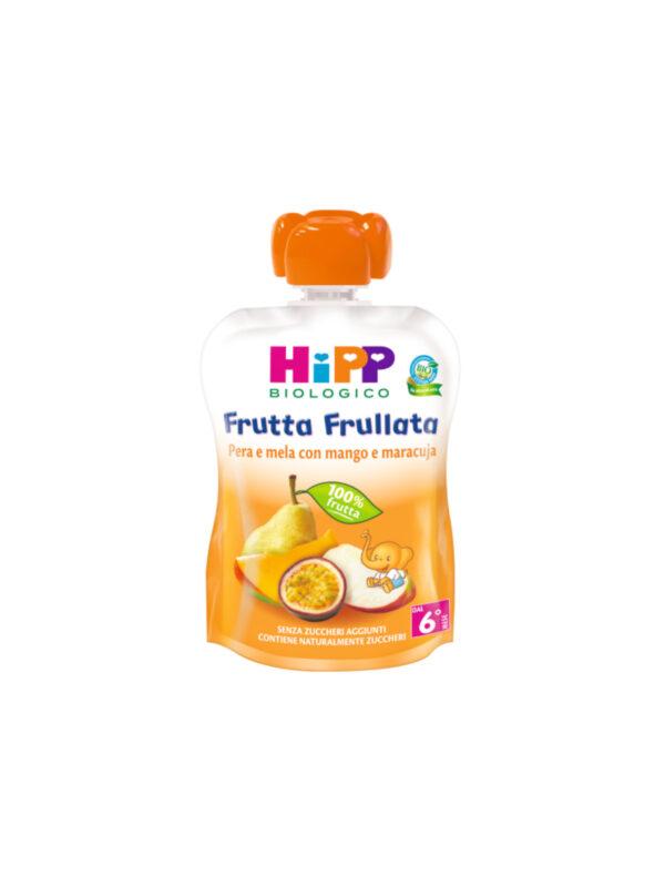 Frutta frullata Pera Mela Mango Mara 90g - HiPP - Merende da bere