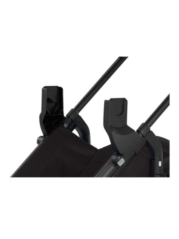 Kit adattatore nero per Zippy Light/ Segg. Auto - INGLESINA - Basi Auto e Accessori seggiolini