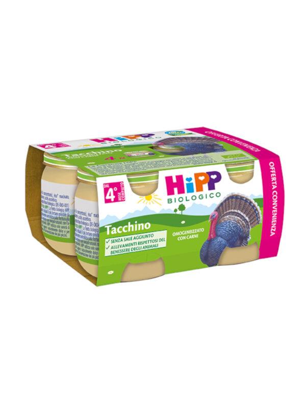 Omogeneizzato Tacchino 4x80g - HiPP - Omogeneizzato carne