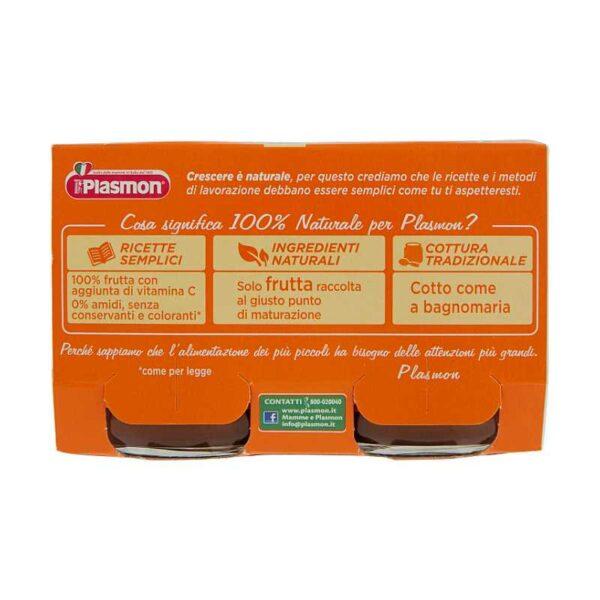 Plasmon - Omogeneizzato Prugna - 2x104g - Plasmon - Omogeneizzato frutta