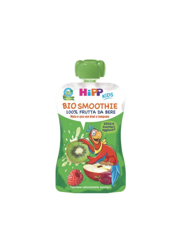 Smoothies Mele e Uva con Kiwi e Lampone 120 ml - HiPP - Merende da bere