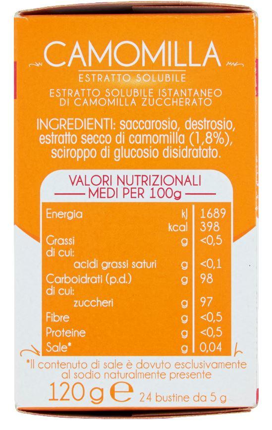 Plasmon - Infuso Camomilla - 24 Buste - 24x5g - Plasmon - Tisane per bambini