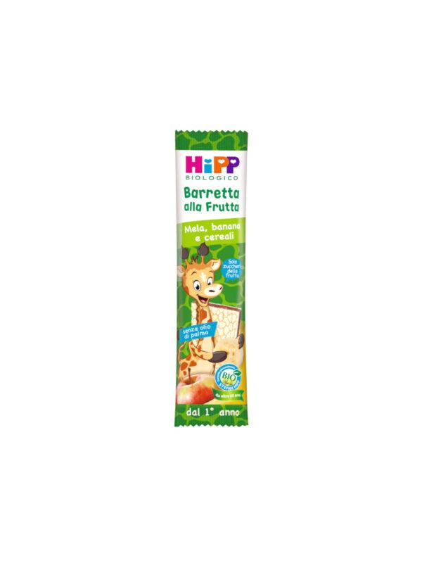 Barretta Viva la frutta Mela banana cereali 23 gr - HiPP - Snack per bambini