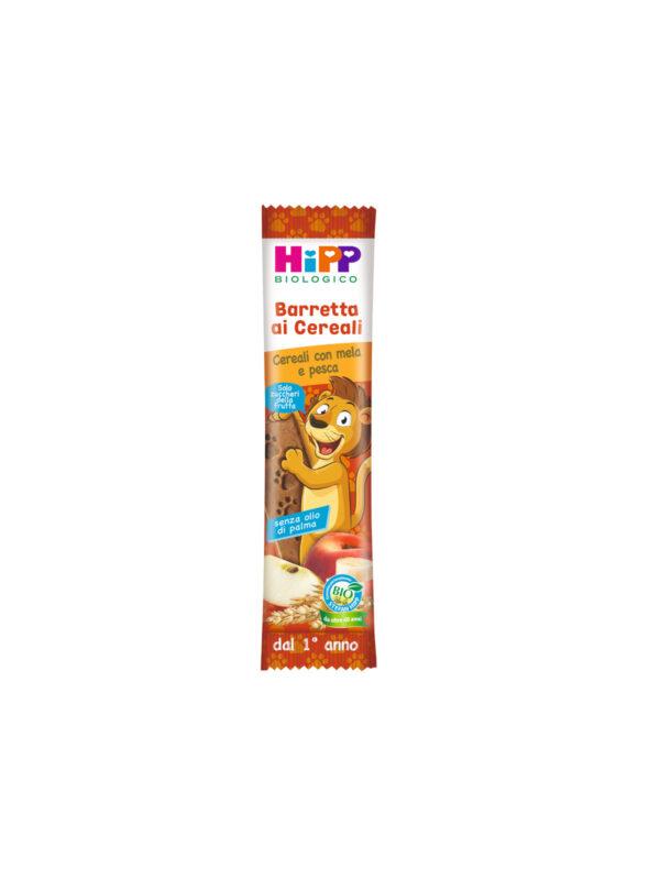 Viva i cereali con mela e pesca 20 gr - HiPP - Snack per bambini