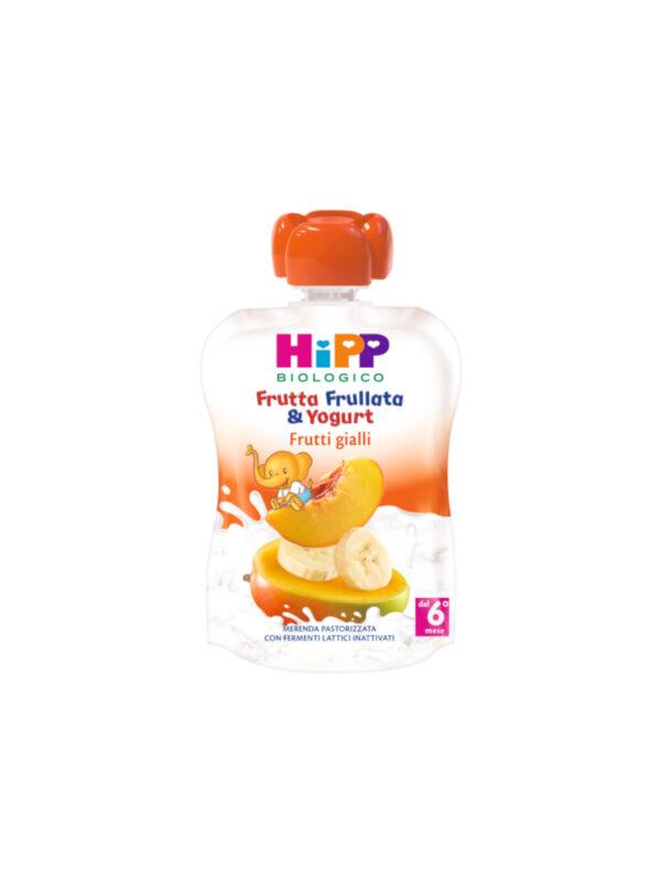 Frutta frullata Yogurt frutti gialli 90g - HiPP - Merende da bere