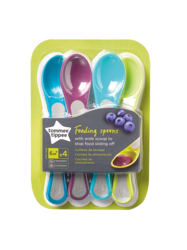 Explora cucchiai neutro 6 m+ 4 pz - TOMMEE TIPPEE - Accessori Pappa e Allattamento