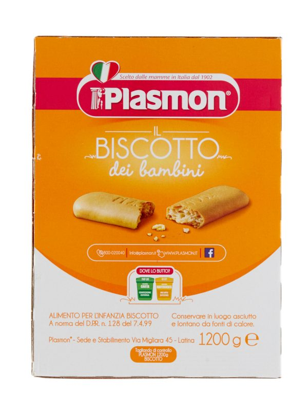 Plasmon - Biscotto Plasmon 1200g - Plasmon - Biscotti per bambini