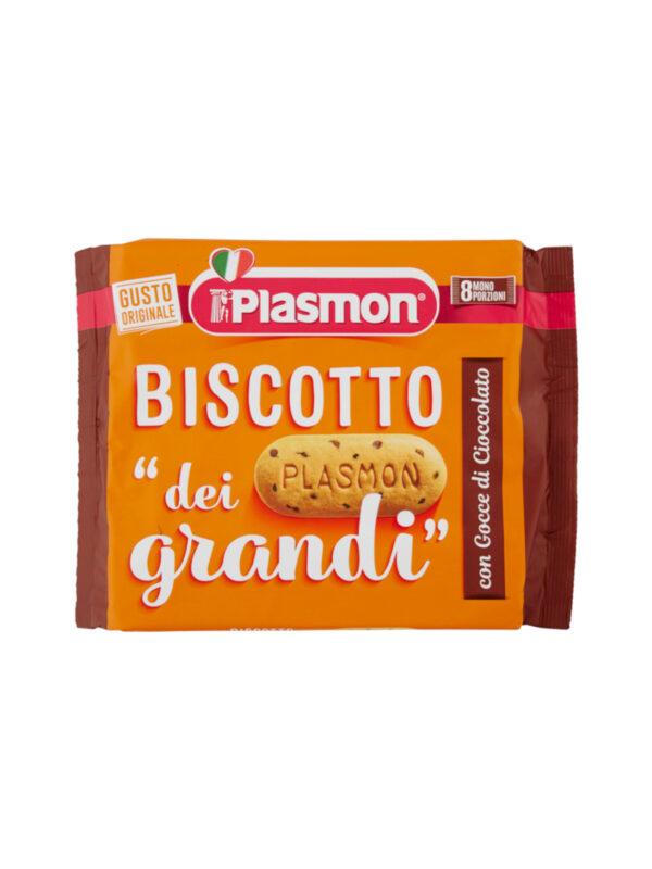 Plasmon Biscotto Adulto - Biscotto dei Grandi Gocce di Cioccolato - 270g - Plasmon Biscotto Adulto - Biscotti per bambini