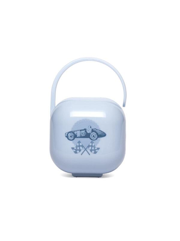 Scatolina portasucchietto blu - SUAVINEX - Ciucci