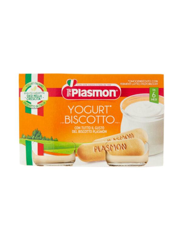 Plasmon - Omogeneizzato Yogurt Biscotto - 2x120g - Plasmon - Omogeneizzato frutta