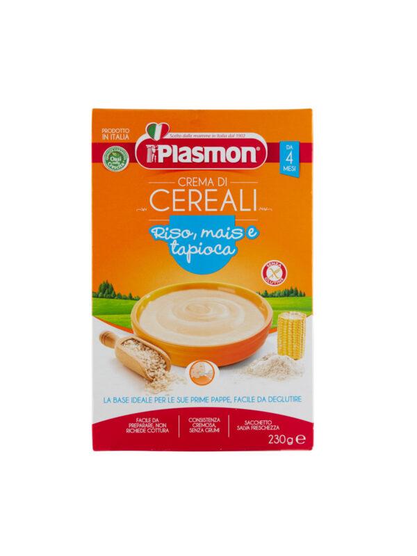 Plasmon - Cereali - Crema di Riso Mais e Tapioca - 230g - Plasmon - Creme e Pappe Lattee