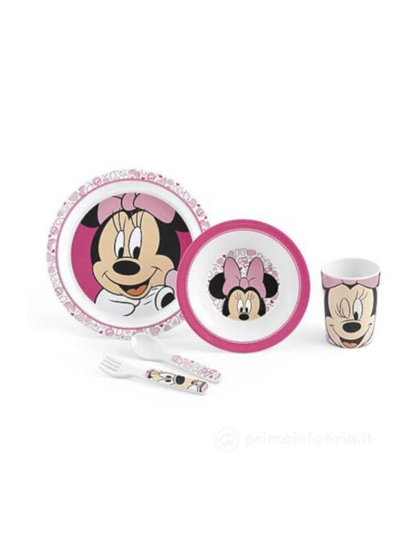Set pappa Disney Minnie - 5 pz - DISNEY - Piatti e Set Pappa