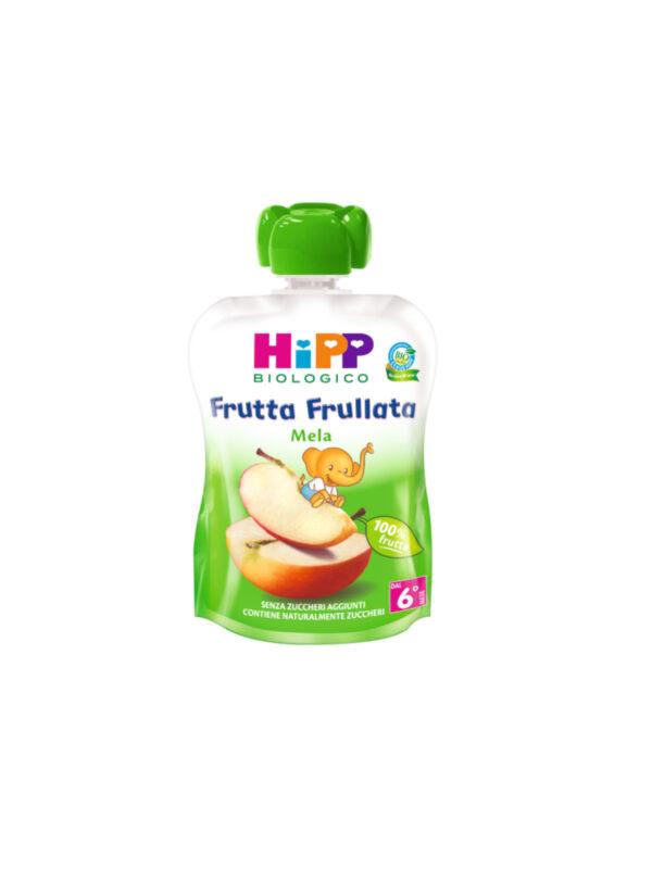 Frutta frullata Mela 90g - HiPP - Merende da bere
