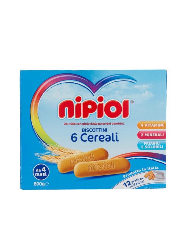 Nipiol - Nipiol 800gr - Nipiol - Biscotti per bambini